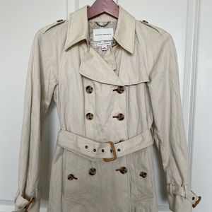 Banana Republic Belted Trench Coat Size S